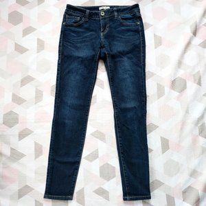 CAbi Style 492 Skinny Stretch Leg Womens Dark Wash